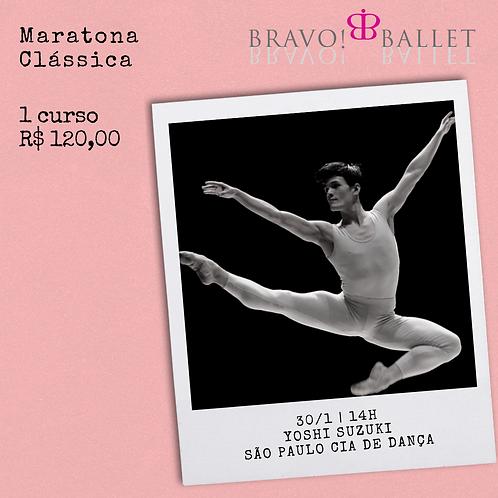 Ballet intermediário com Yoshi Suzuki (30/1)