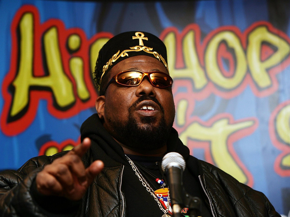Afrika Bambaataa, Photo courtesy of The Source