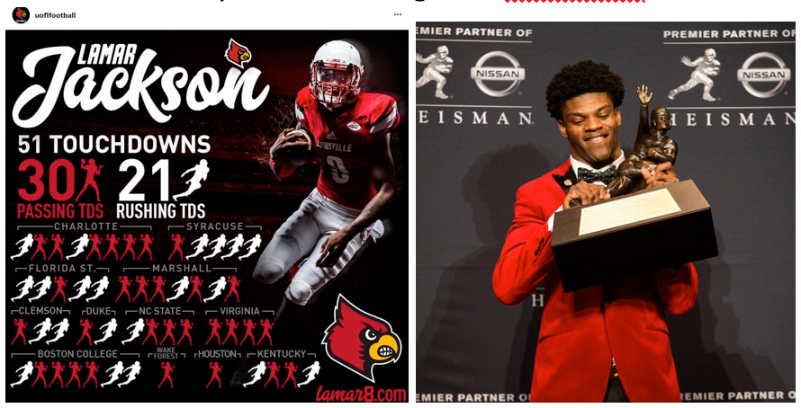 Photos courtesy of Instagram: @uoflfootball