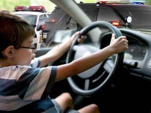 10-Year-Old Boy Takes Mother's Car For a Joyride