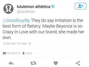 Beyonce Announces Athleisure Clothing Line, Lululemon Throws Shade