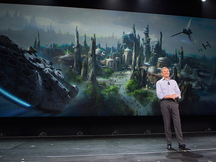 Harrison Ford to unveil details of Disney's new Star Wars themed lands