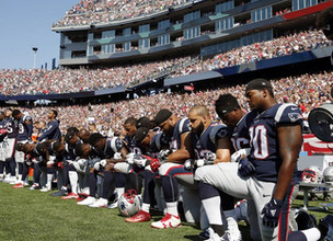 As The President Takes to Twitter The NFL Takes a Knee
