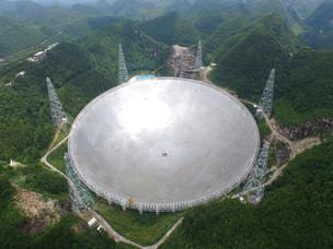 New World's Largest Radio Telescope