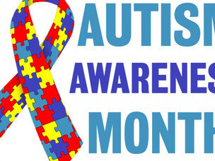 It's National Autism Awareness Month!