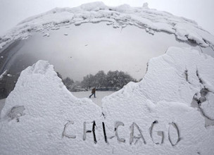 """Chicago Winter """"Payback"""" for Last Year"""