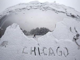 "Chicago Winter ""Payback"" for Last Year"