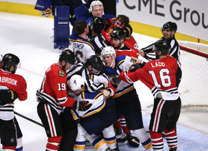 Blackhawks Fall in Game 4, Andrew Shaw Faces Discipline