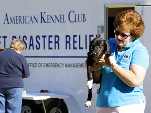 AKC Pet Disaster Relief Trailer for Will County