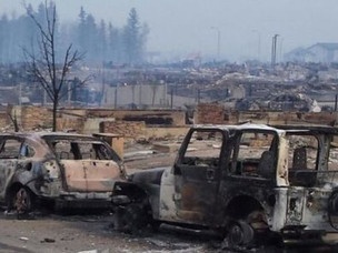 Fort McMurray Wildfire Grows Larger than 210,000 Acres, Continues Raging On