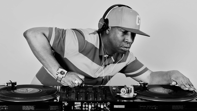 Grandmaster Flash, photo courtesy of Hip Hop Golden Age