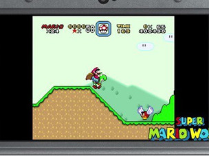 Nintendo Rereleases SNES Games on New 3DS
