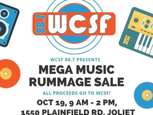 WCSF's Fifth Annual Rummage Sale Set For Saturday, October 19