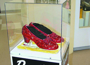 Wizard of Oz Stolen Slippers Recovered