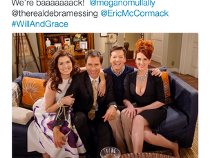 "The Cast of ""Will & Grace"" Get Together"
