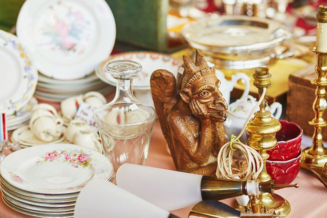 Magasin d'antiquités