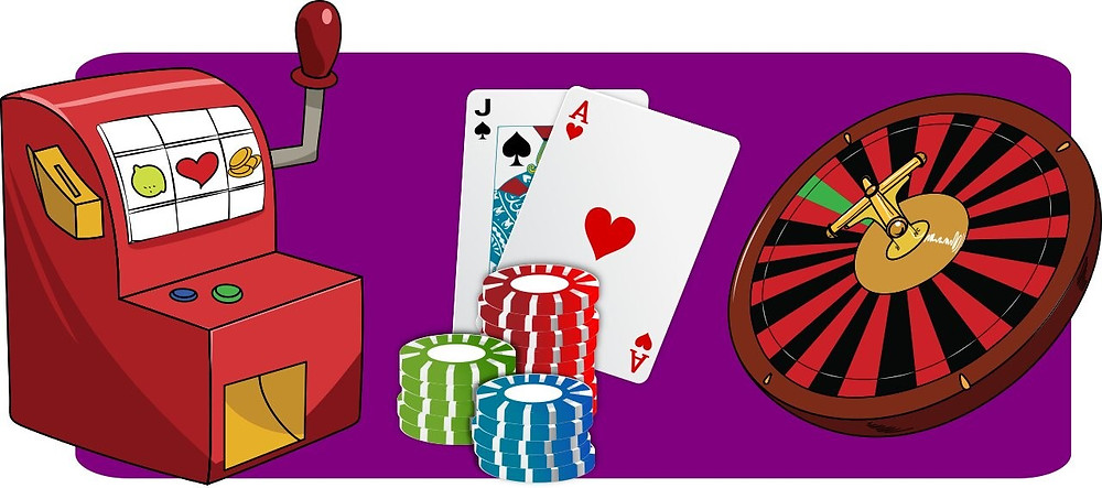 slots poker and roulette image