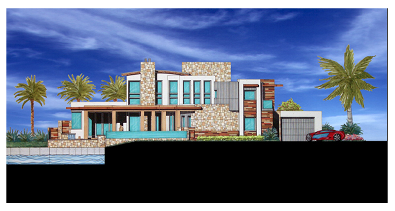 DC Residence Rear Elevation.png