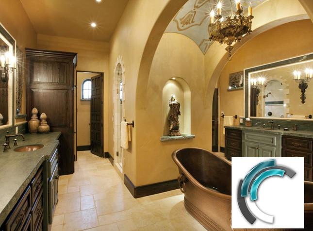 Neoclassical Bathroom