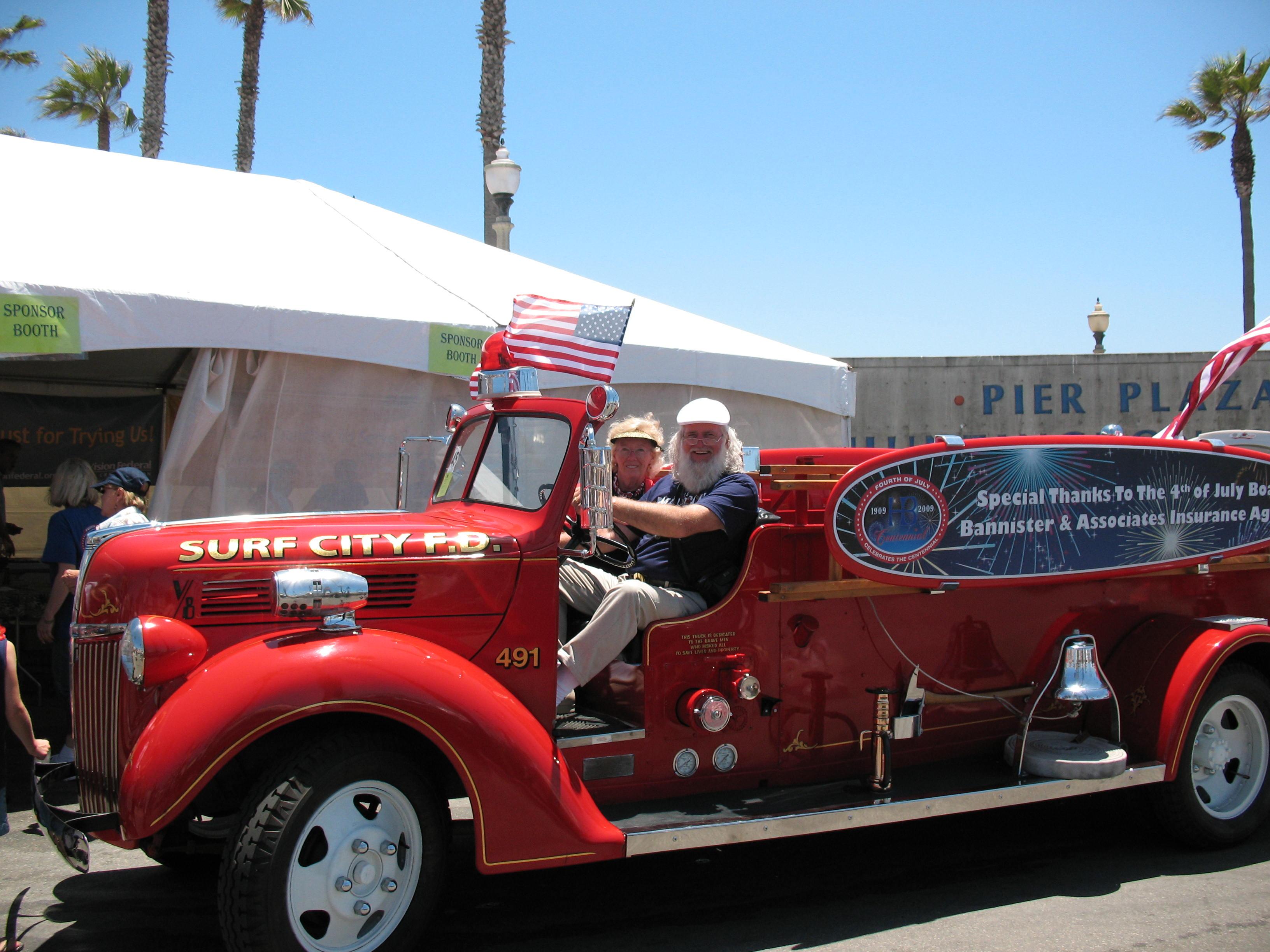 Santa+Fire+Truck#2