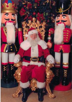 Santa,Throne,SoHigh