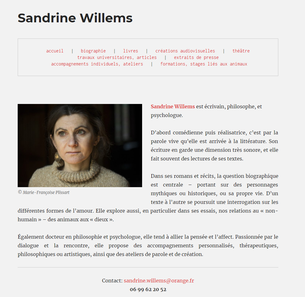 Sandrine Willems