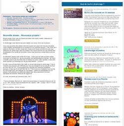 Newsletter Librancrage