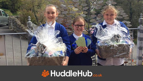 Low Furness School donate two beautiful baskets of treats to St Mary's Hospice
