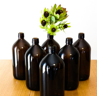 Tall bottles x6