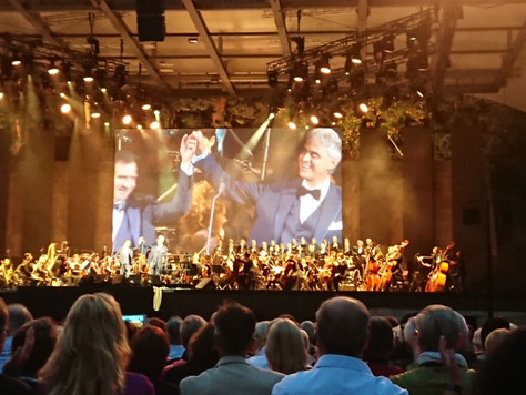 Konzert mit Andrea Bocelli