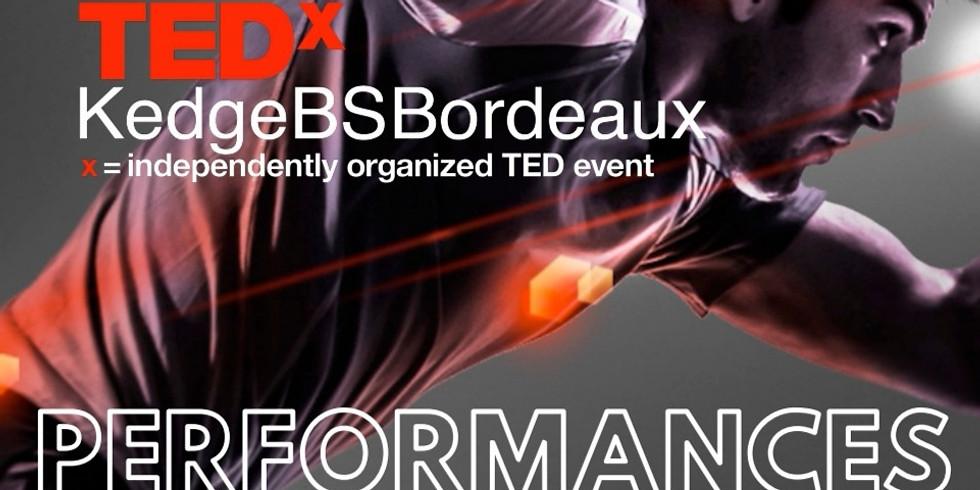 TEDx PERFORMANCES (Intervention Rim RIDANE)