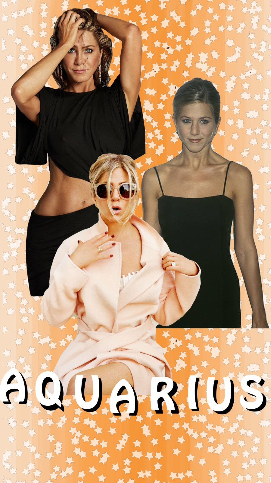 Jennifer Aniston images via Ruven Afanador, Pinterest and @jenniferaniston