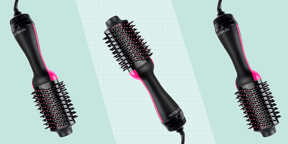 Revlon One-Step Hair Dryer And Volumizer Hot Air Brush image via Good House Keeping website