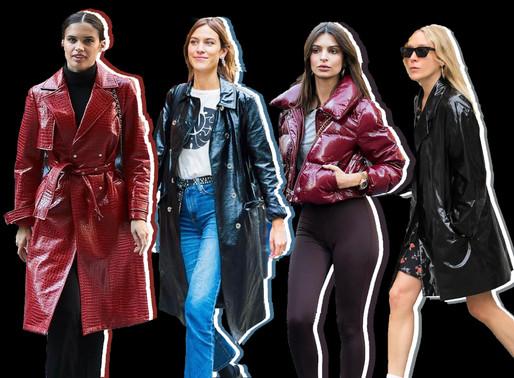 Shiny Coat Trend: Get The Look