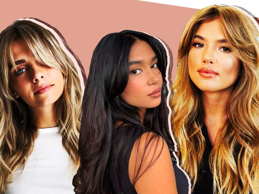 Curtain Bangs are the Hottest Haircut this Autumn and Here's Why