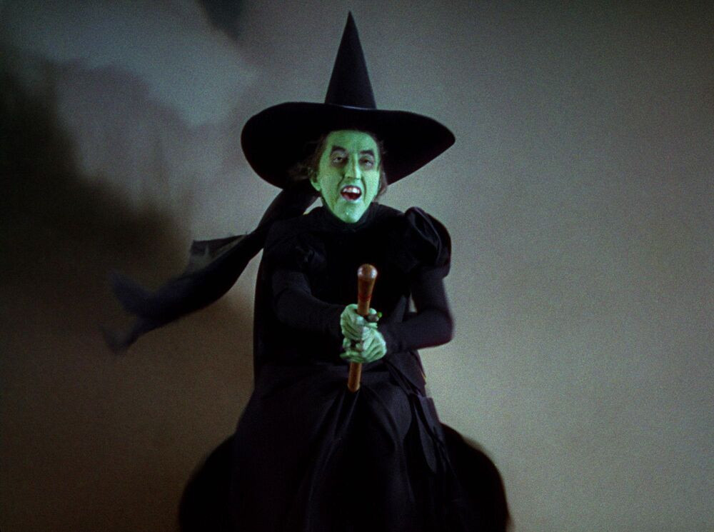 The Wicked Witch of the West image via Warner Bros.