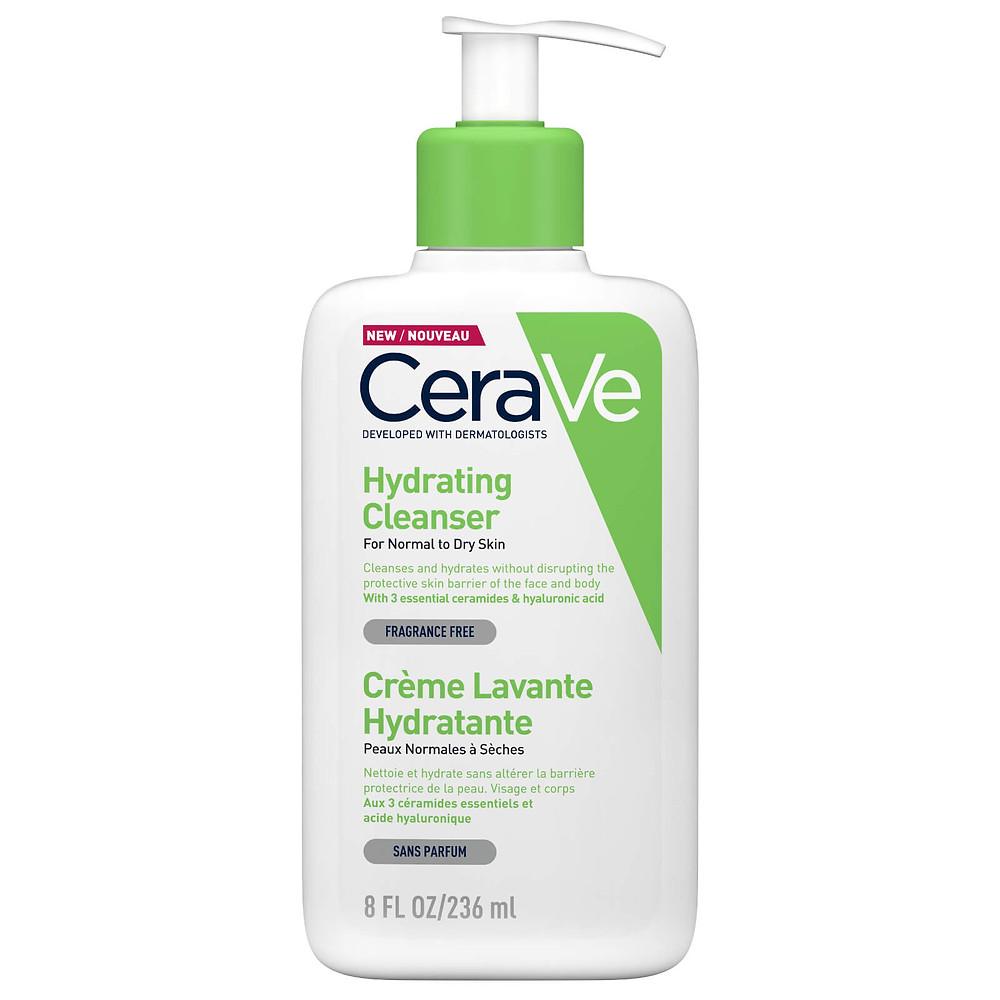 CeraVe Hydrating Cleanser image via Look Fantastic website
