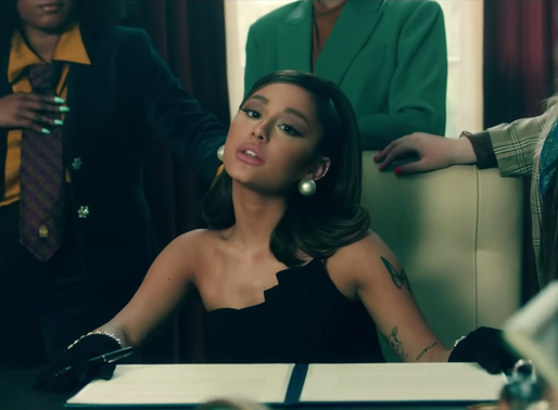 In Jackie Kennedy Style, Ariana Grande Bathes in Presidential Vibes
