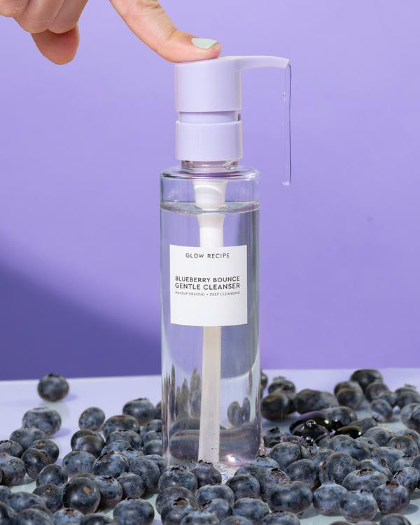 Blueberry Bounce Gentle Cleanser image via Glow Recipe website