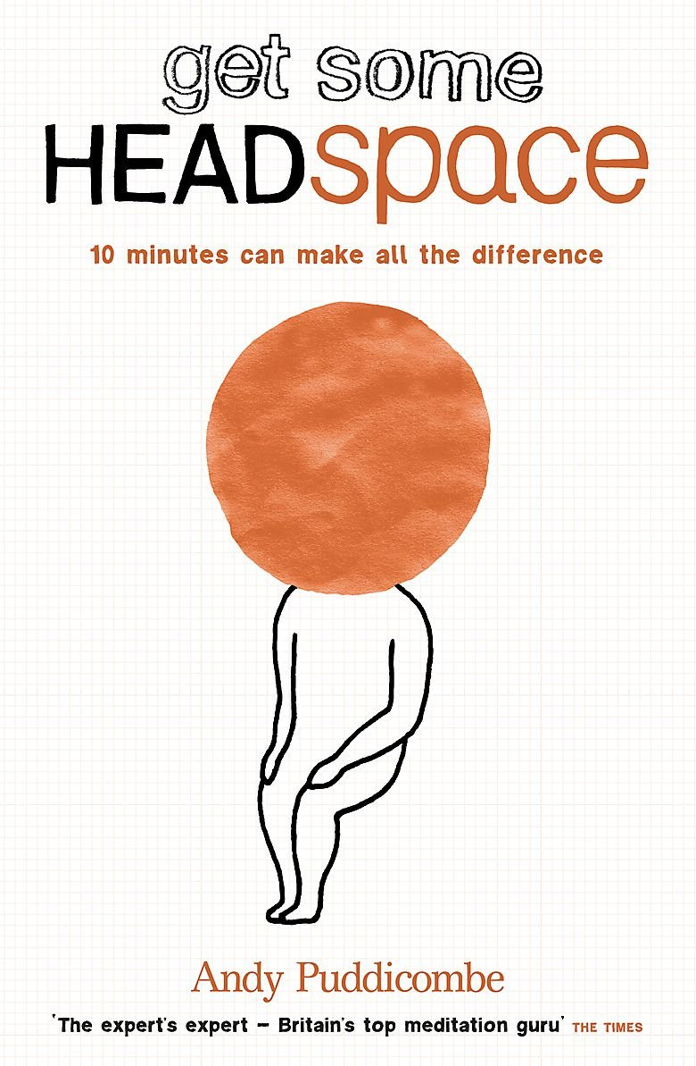 The Headspace Guide to Mindfulness & Meditation by Andy Puddicombe image via Amazon website