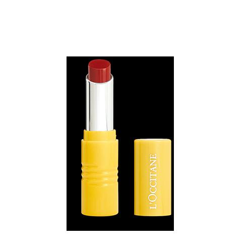 Ravie en Rouge Intense Fruity Lipstick image via L'Occitane website