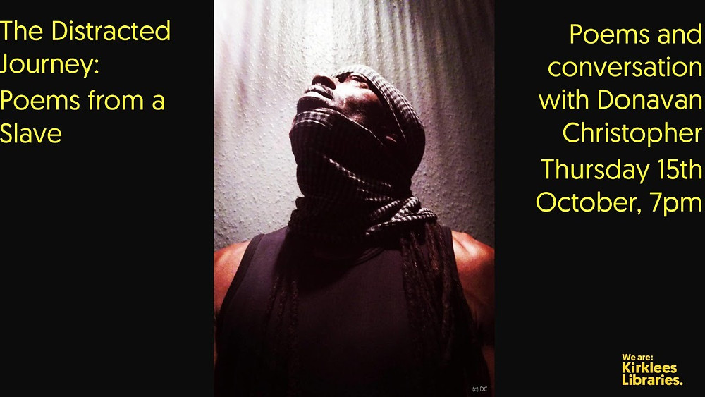 The Distracted Journey: Poems From A Slave image via YouTube