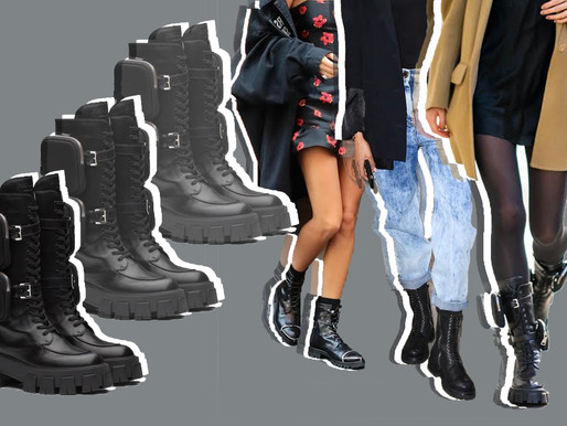 The Season Of Combat Boots: How To Get These Chić Autumn/Winter Looks