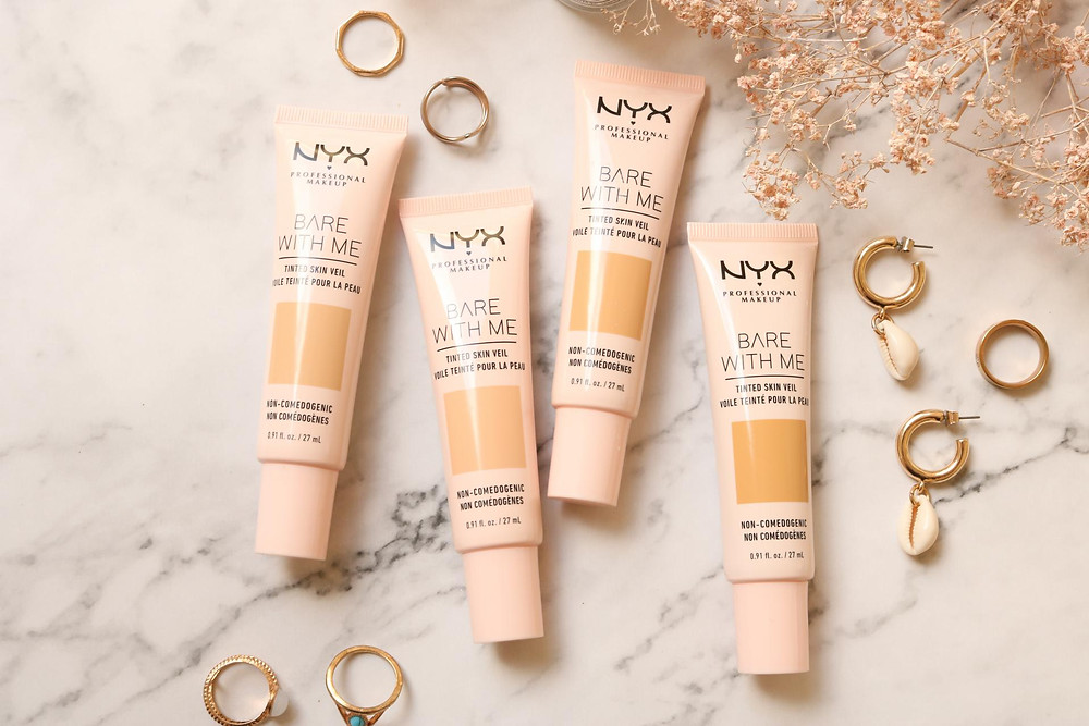 NYX Bare With Me Tinted Skin Veil image via the Beauty Parlour website