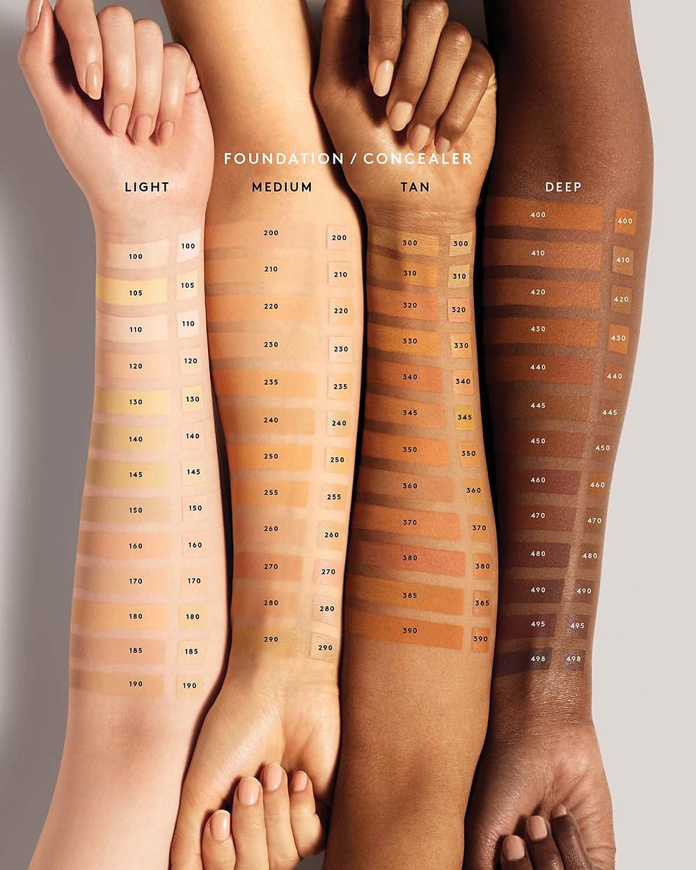 Pro Filt'r Soft Matte Longwear Foundation image via Fenty Beauty website
