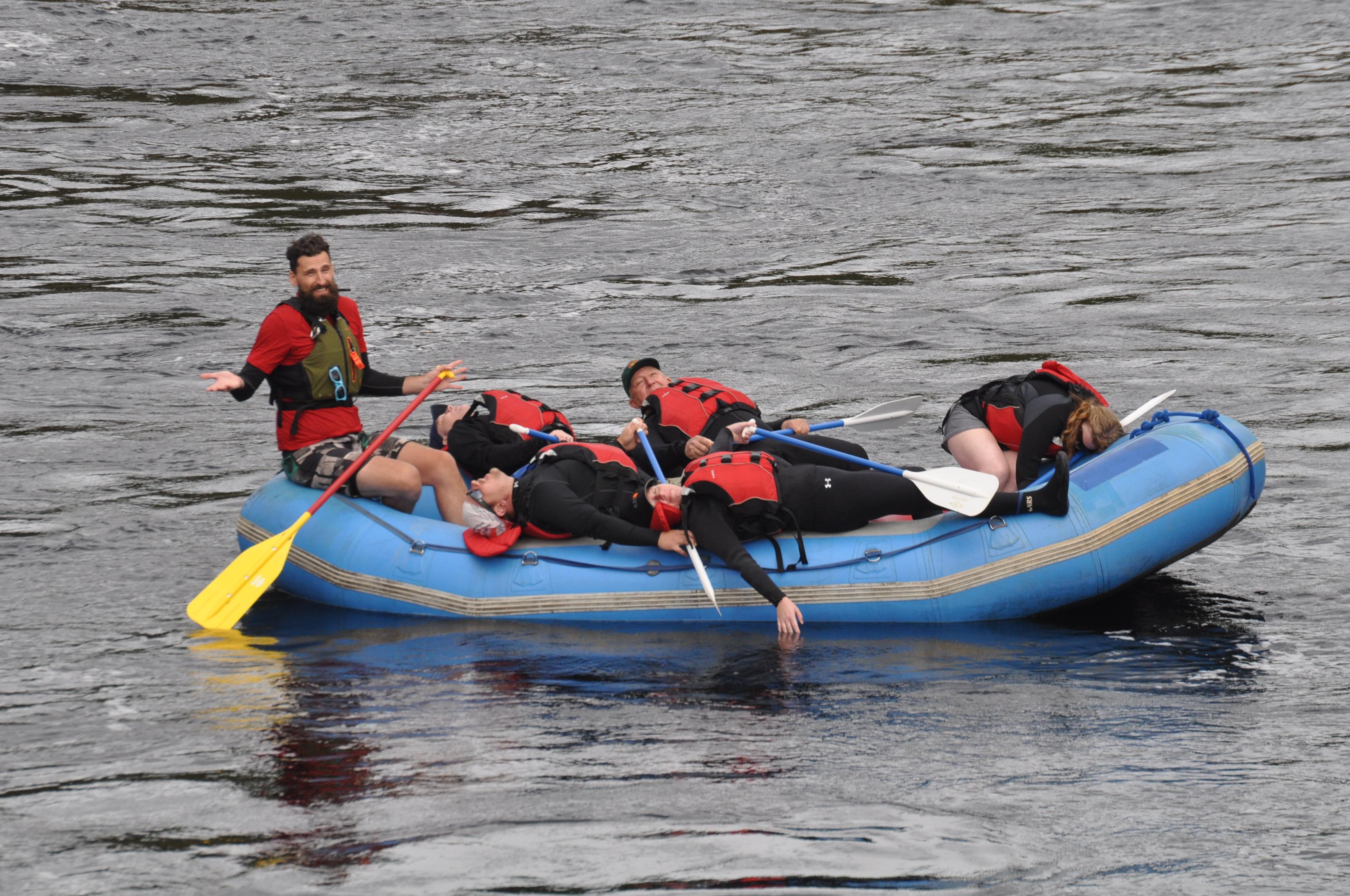Funny Float Trip Crew