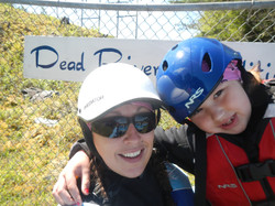 Mom and Child Whitewater Gear