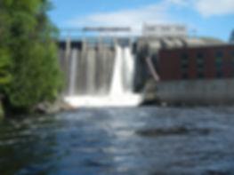 Harris Dam Dumping Water