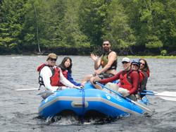 Relaxing Float Trip