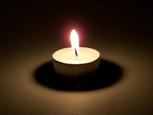 Tea Light Reiki-Infused Candle Magick